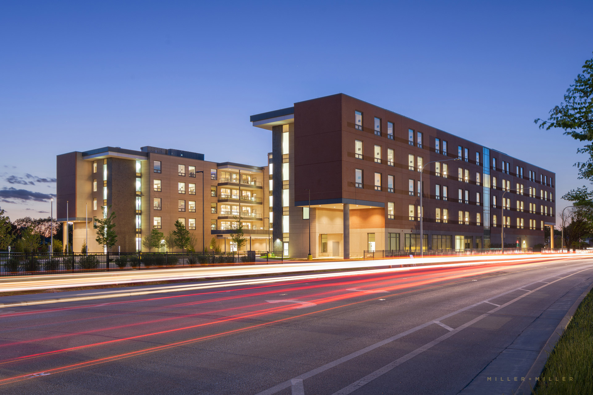 Chicago architectural photographer veterans medical facility building