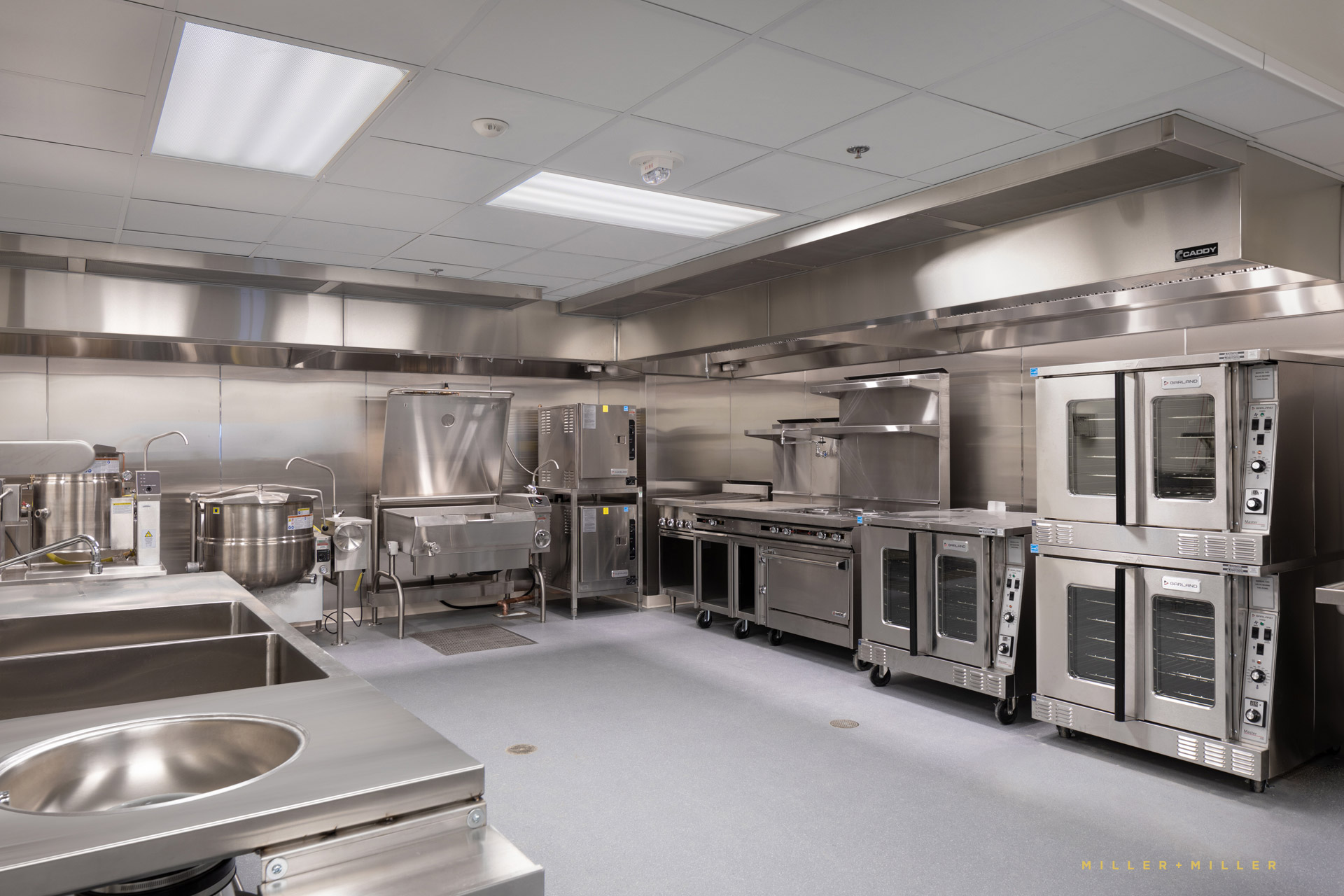 dietary stainless steel commercial medical kitchen